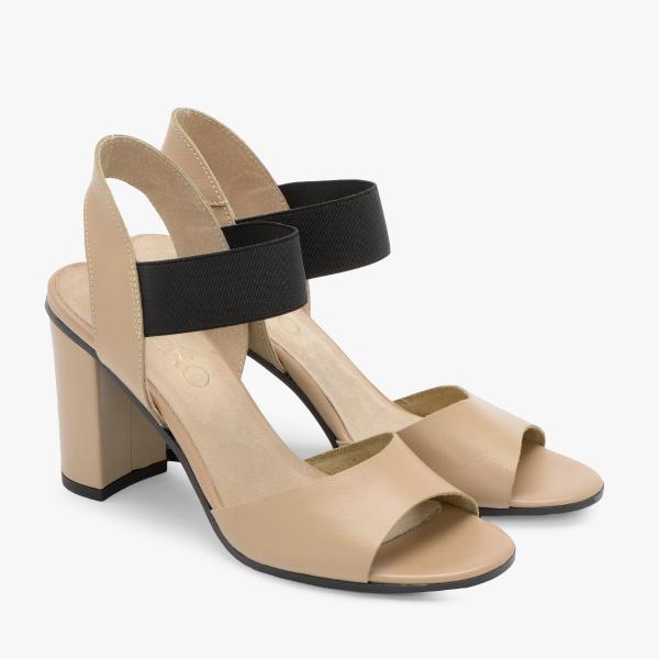 Sandały z gumowym paskiem 9HH81T4 _3HP