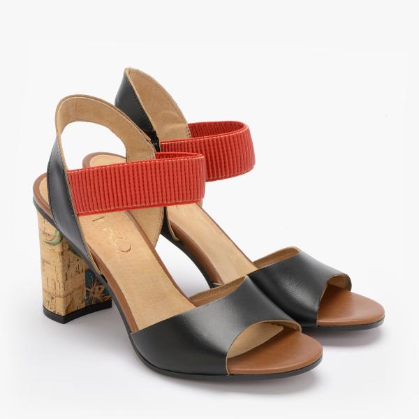 Sandały z gumowym paskiem 9HH81T4 _3IH